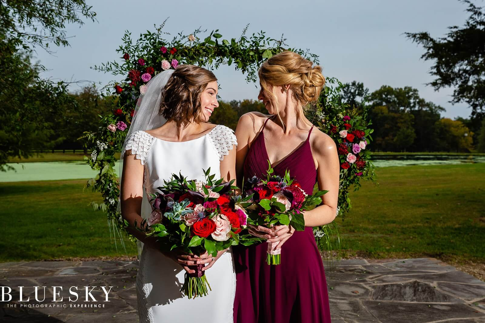 Sociably Yours - Bride and Maid of Honor
