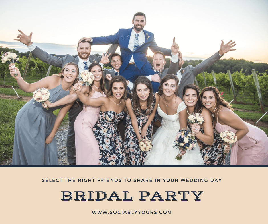 How to Choose Your Bridal Party Guide