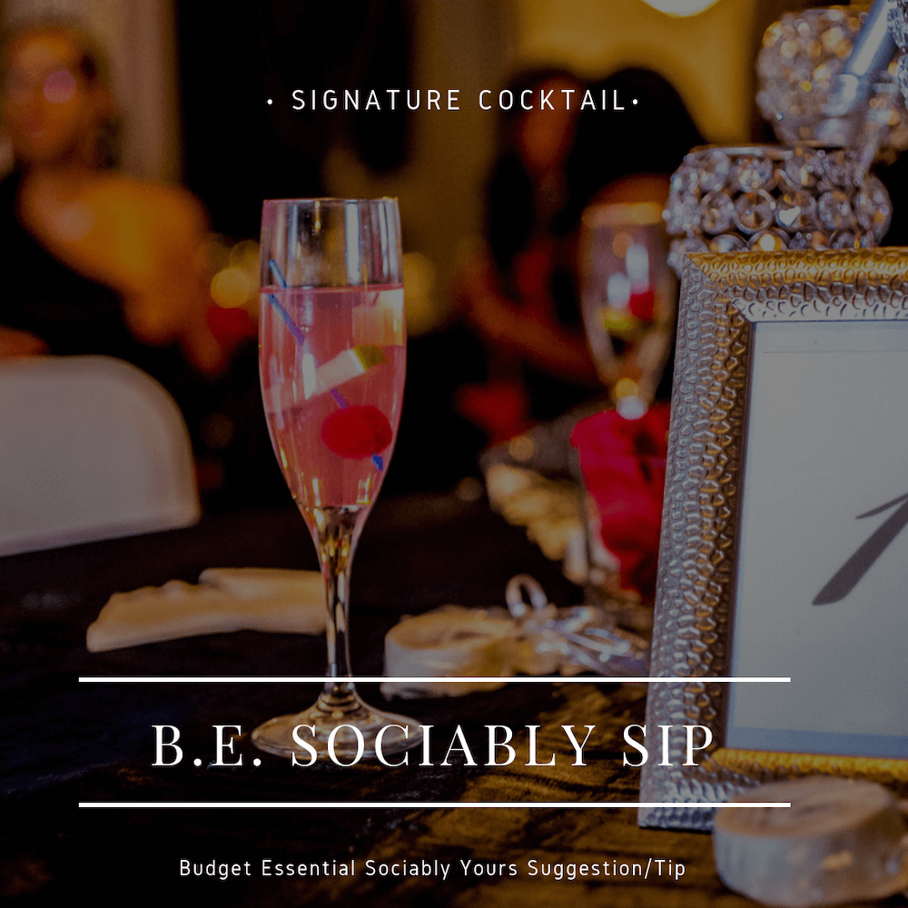 Social Soiree Must-Have Signature Cocktail